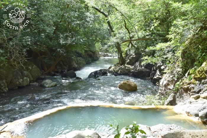 Hot Springs Pool Overlooking River