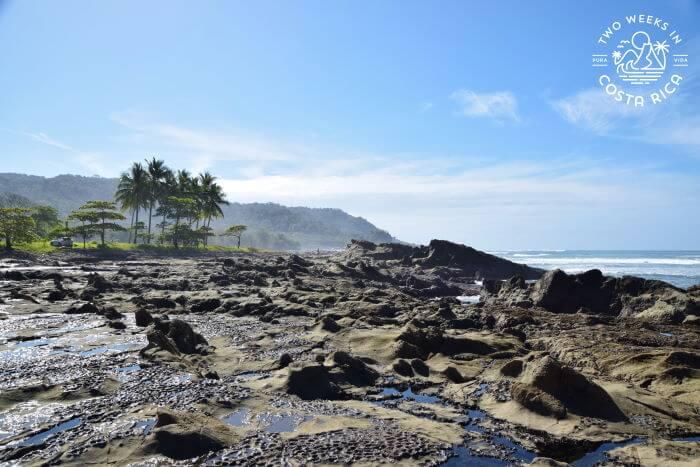 Rocks at Mal Pais tide pools