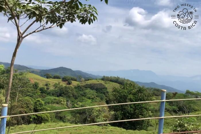 Views Road to Puriscal