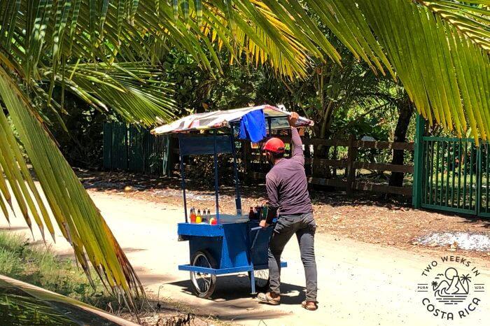 Beach Ice Cream Vendor