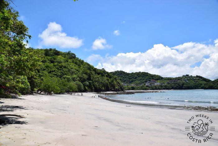 Swimming beach Guanacaste