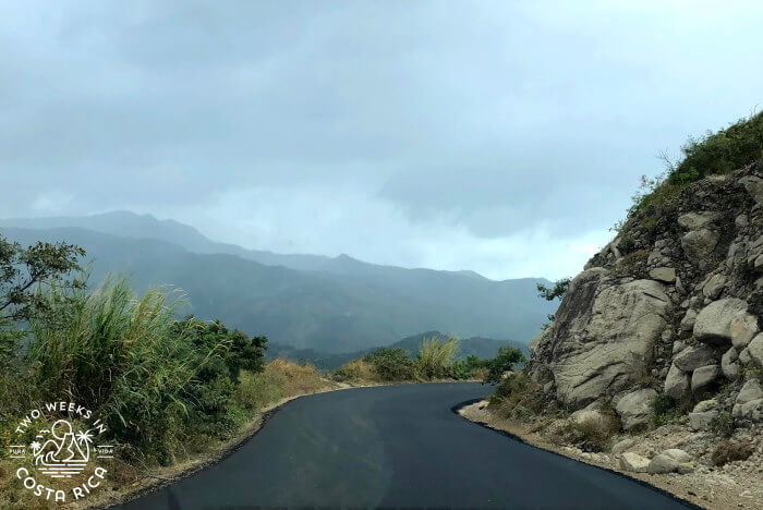 Driving to Monteverde