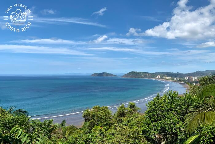 Aerial View Jaco Beach