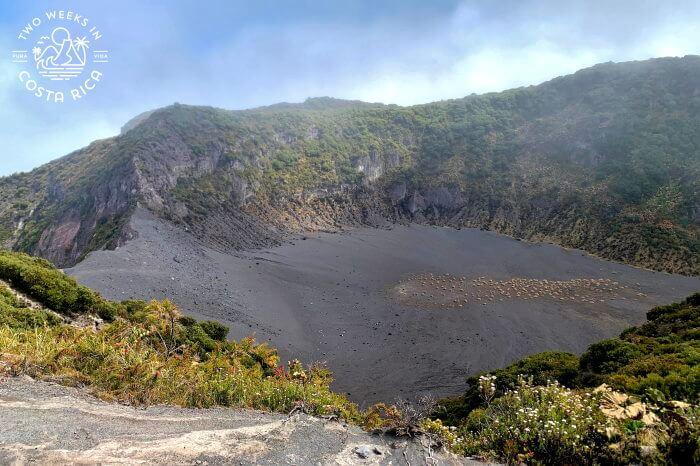 Crater Diego de la Haya Irazu