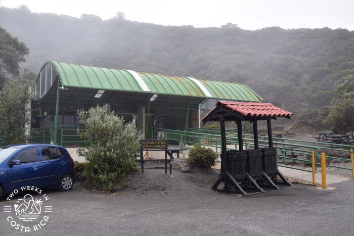 Gift Shop Irazu Volcano National Park