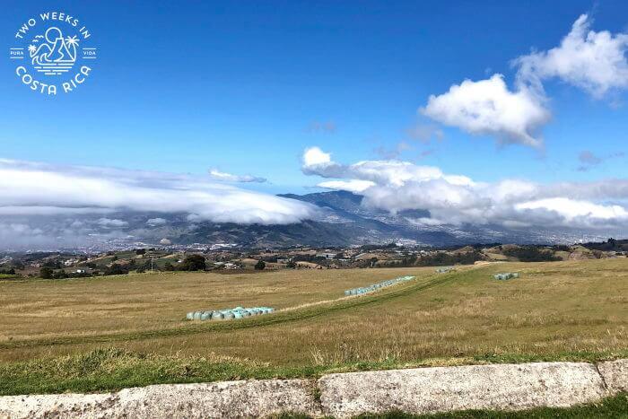Fields and Farmland near Irazu