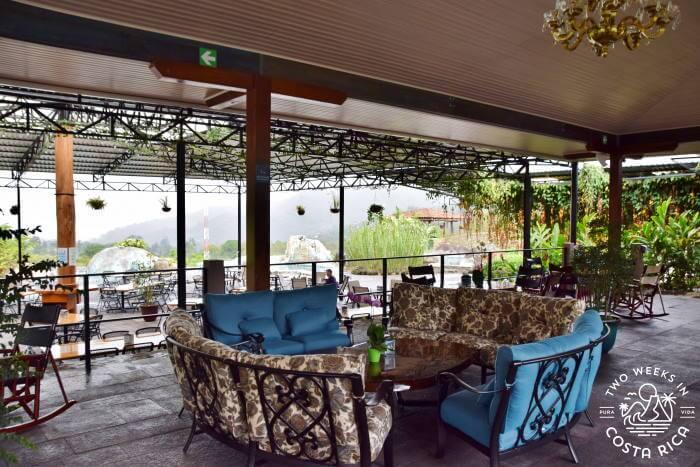 Lobby Hacienda Orosi