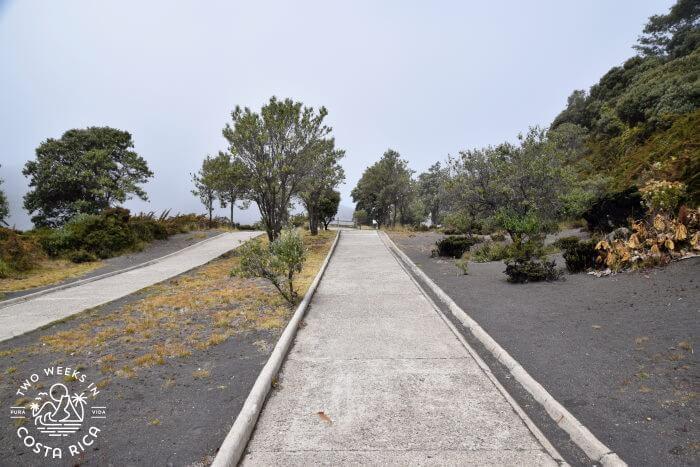 Trail to Crater Irazu