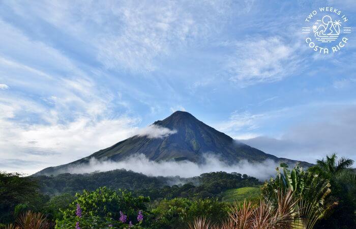 Arenal Volcano views September