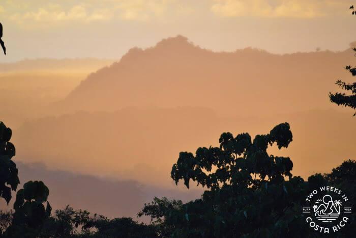 Southern Pacific Coast Costa Rica Rainy Season