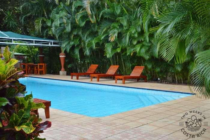Villa San Ignacio pool