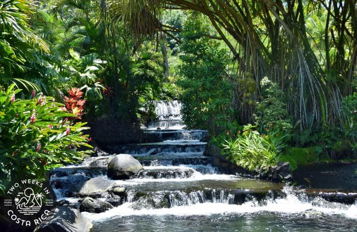 Waterfall Tabacon Resort