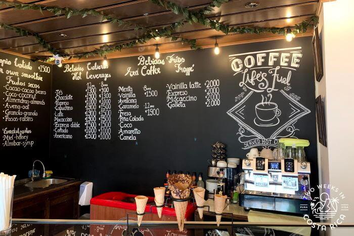 The Garage coffee dessert shop