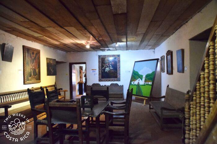 Antique Furniture Orosi Museum Religious Art