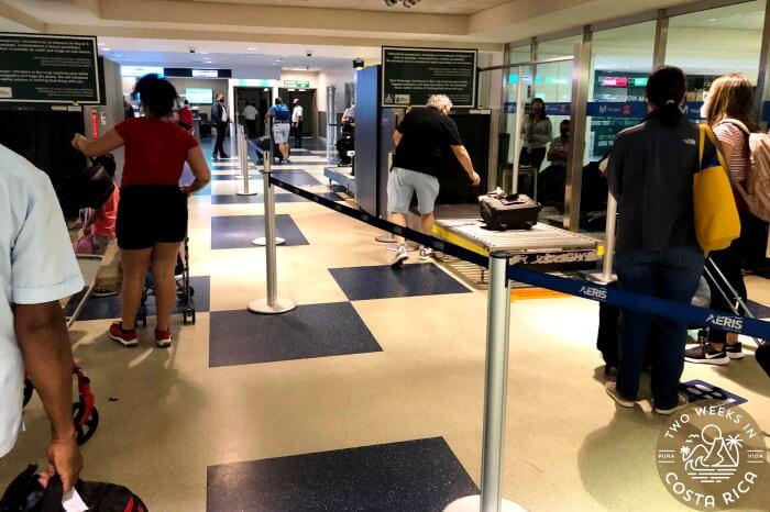 Customs Screening SJO