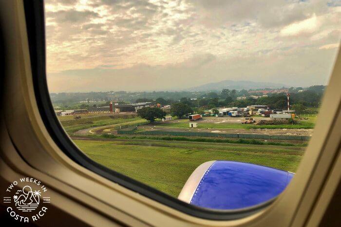 Departing SJO