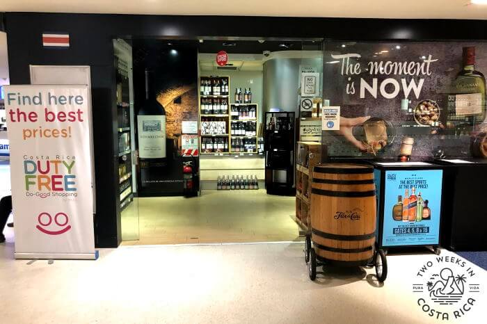 Duty Free Liquor San Jose Airport Arrivals