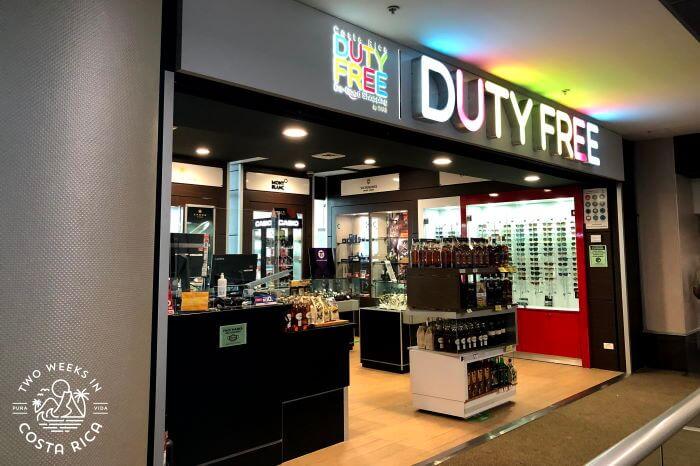 Duty Free SJO Departure Area