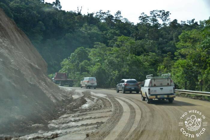Landslide Highway 1 Cerro de la Muerte