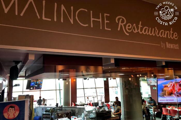 Malinche Restaurant Departure Area SJO Airport
