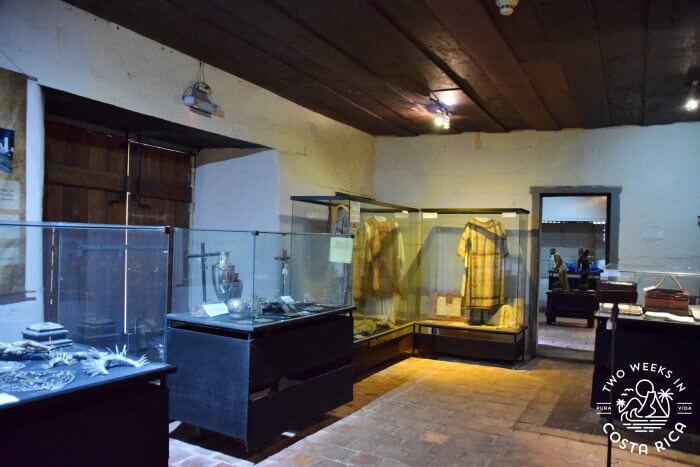 Religious displays Monastery Orosi Colonial Church