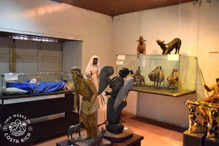 Statues Orosi Museum Religious Art