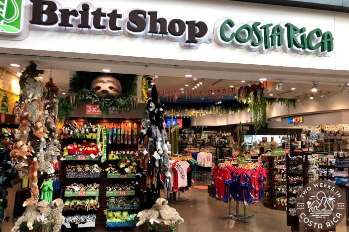 Cafe Britt Shop SJO