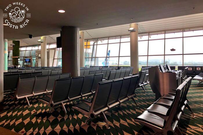 Seating SJO Departure Gates