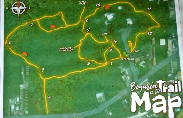 Trail Map Bogarin Trail