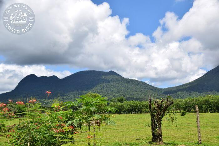 View Arenal Cerro Chato from Bogarin Trail