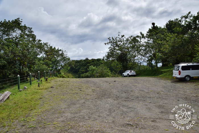 Upper Parking Near Volcano