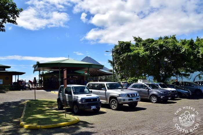 Parking Area Mistico Hanging Bridges