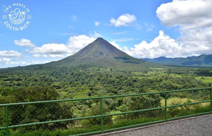 Arenal Volcano View from Mistico