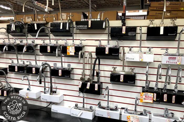 Faucets El Lagar Hardware Store