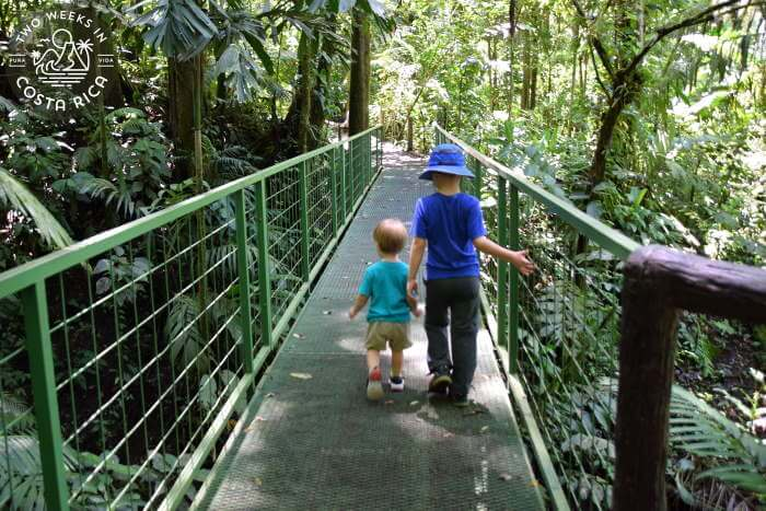 Things to Do La Fortuna Young Kids