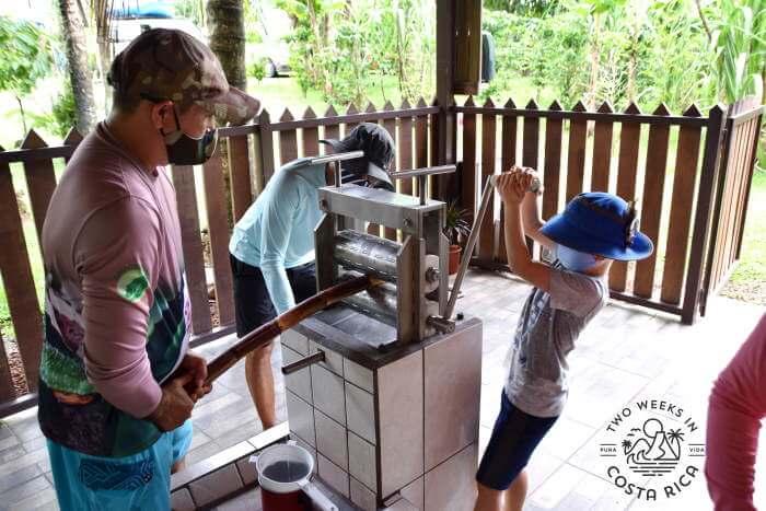Cultural demonstration safari float tour