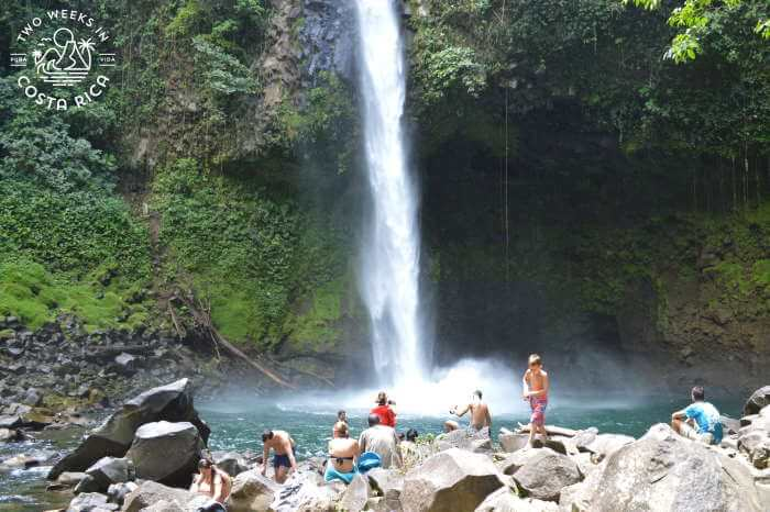 La Fortuna Waterfall with Kids